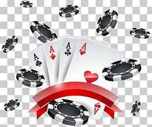 Texas Hold 'em Casino Token PNG
