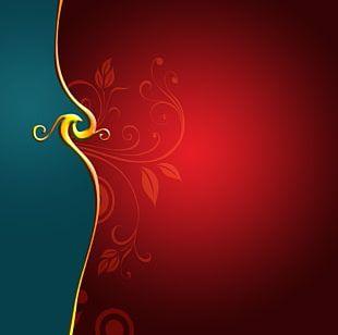 Red Visual Arts PNG