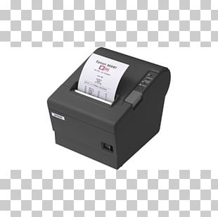 Point Of Sale Label Printer Thermal Printing Paper PNG