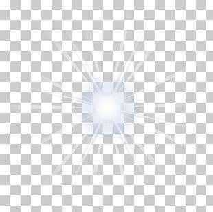 Light White Star Glare PNG