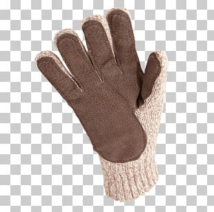 Wool Glove Alpaca Leather Lining PNG