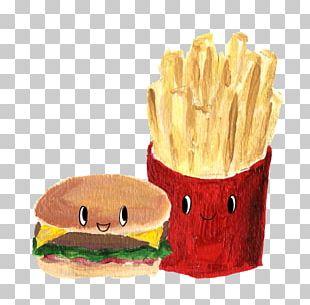 Fast Food Junk Food Hamburger French Fries Cheeseburger PNG
