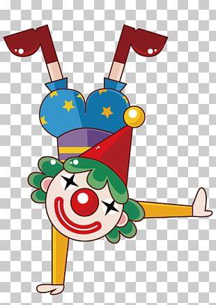 Performance Cartoon Clown PNG