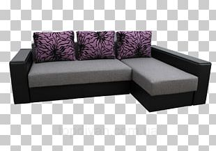 Sofa Bed Couch Chaise Longue Angle PNG