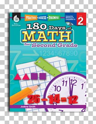 180 Days Of Math For Second Grade 180 Days Of Writing For First Grade: Practice PNG