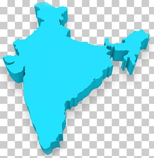 India Map 3D Computer Graphics PNG