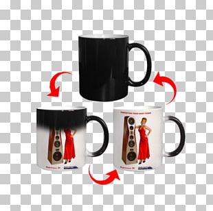 Magic Mug Coffee Cup Personalization Tableware PNG