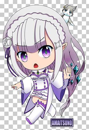 Re:Zero − Starting Life In Another World Chibi Mangaka Anime PNG