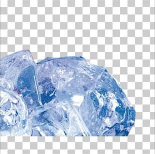 Ice Cube Blue Ice PNG
