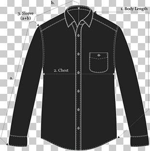 Sleeve Shirt Button Jacket PNG