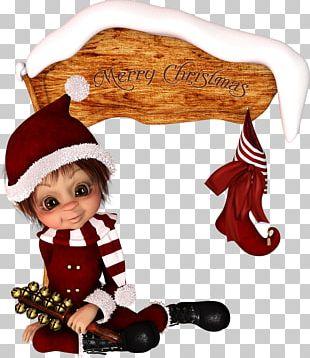 Christmas Ornament Ded Moroz Elf Santa Claus PNG