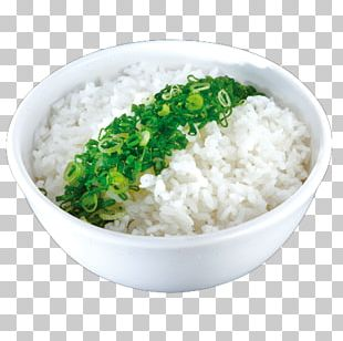 Cooked Rice Asian Cuisine White Rice Steaming PNG