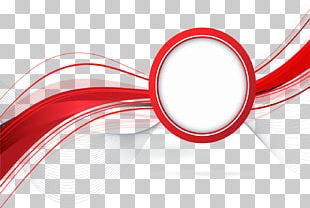 Red Line Abstraction PNG