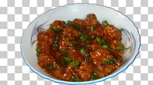 Gobi Manchurian Indian Chinese Cuisine Fried Rice Gravy PNG