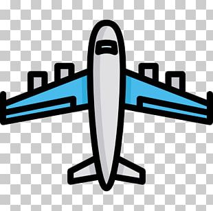 Airplane Air Transportation Aircraft Computer Icons PNG
