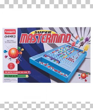 Mastermind Connect Four Board Game Set PNG
