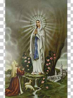 Our Lady Of Lourdes Holy Card Prayer Our Lady Of Fátima PNG