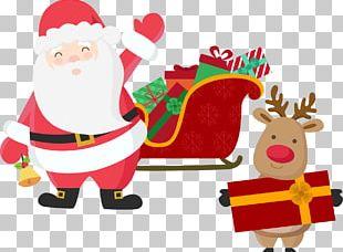 Rudolph Santa Claus's Reindeer Christmas Santa Claus's Reindeer PNG