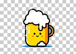 Beer Head Graphic Design Illustration PNG