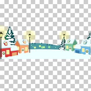Christmas Village PNG