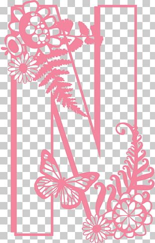 Floral Design Letter Portable Network Graphics PNG