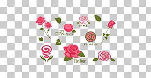 Logo Flower Rose PNG
