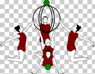 Ball Rhythmic Gymnastics Ribbon PNG
