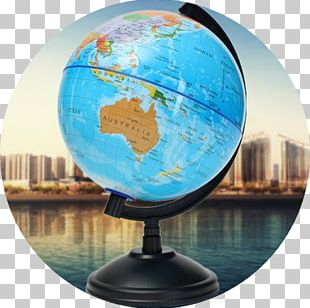 Globe World Map Earth Geography PNG