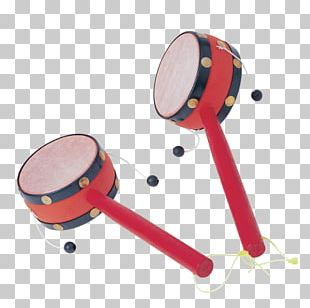 China Pellet Drum Musical Instrument Percussion PNG