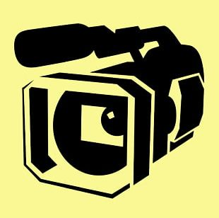 Television Professional Video Camera PNG