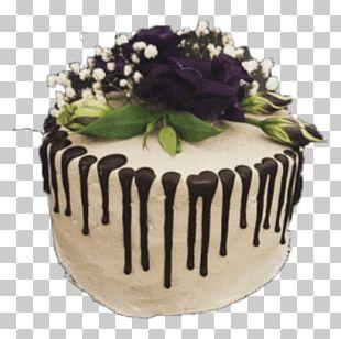 Buttercream Chocolate Cake Cakery Cake Decorating PNG