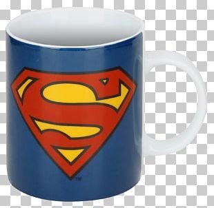 Superman Logo Clark Kent Batman Mug PNG