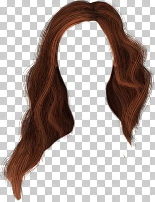 Brown Hair Wig Hairstyle PNG