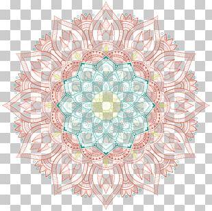 Circle Motif Pattern PNG