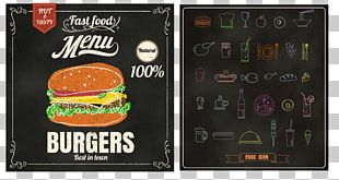 Hamburger Fast Food Pizza European Cuisine Menu PNG