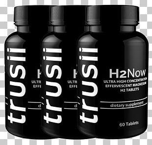 Dietary Supplement Hydrogen Trusii Liquid Health PNG