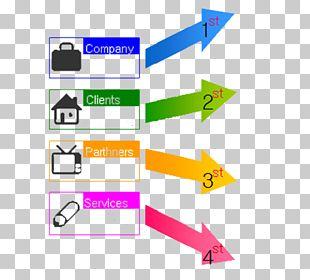 Line Chart Arrow Template Technology PNG