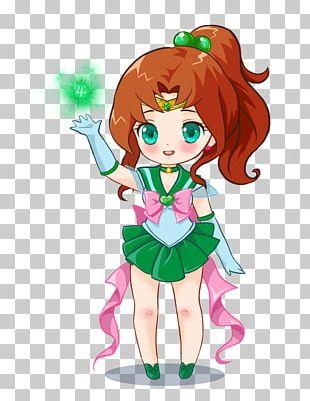 Sailor Jupiter Sailor Moon Chibiusa Sailor Senshi PNG