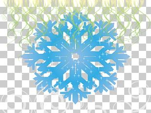 Snowflake Ice Crystals PNG