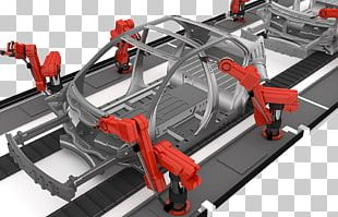 Car Factory Automation Automotive Industry Production Line PNG
