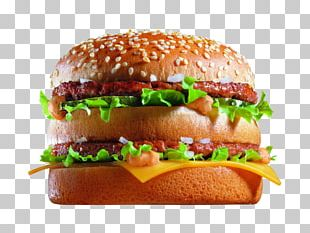 Hamburger McDonald's Big Mac Fast Food Veggie Burger Junk Food PNG