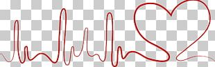 Heart Rate Decorative Lines PNG