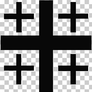 Kingdom Of Jerusalem Crusades Christian Cross God Jerusalem Cross PNG