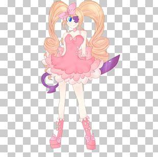 Pink M Anime RTV Pink Figurine Barbie PNG