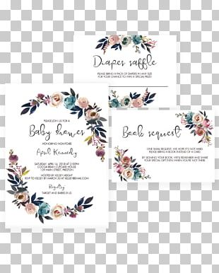 Baby Shower Wedding Invitation Convite Party Boho-chic PNG