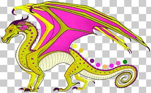 Wings Of Fire Dragon The Hidden Kingdom The Dark Secret Color PNG