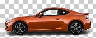 Orange Gt86 Toyota PNG