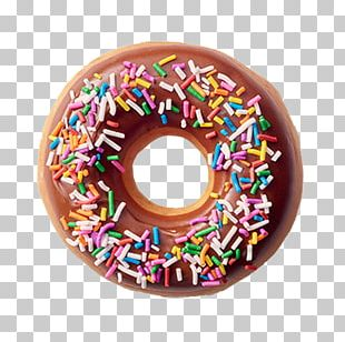 Donuts Frosting & Icing Sprinkles Krispy Kreme Glaze PNG