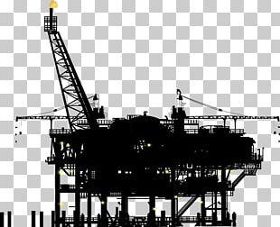 Drilling Rig Industry Oil Platform Petroleum Offshore Drilling PNG