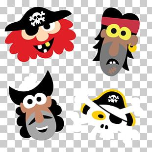 Piracy Mask Cartoon PNG